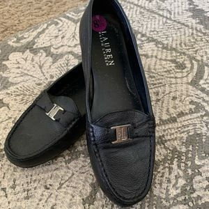 Stamford style-newish Ralph Lauren leather loafers
